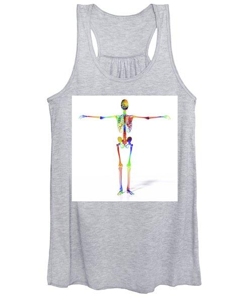 Human Skeleton Model Women's Tank Top