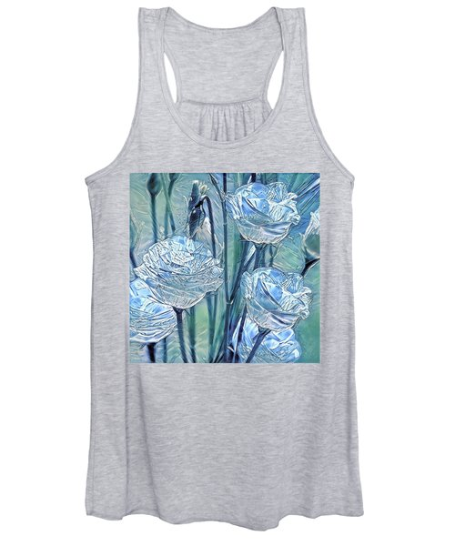 Ice Lisianthus Women's Tank Top