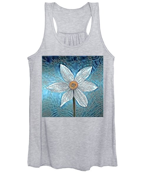 Ice Ornithogalum Women's Tank Top