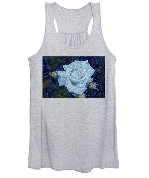 Ice Rose Women's Tank Top
