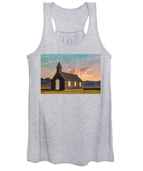 Iceland Chapel Women's Tank Top