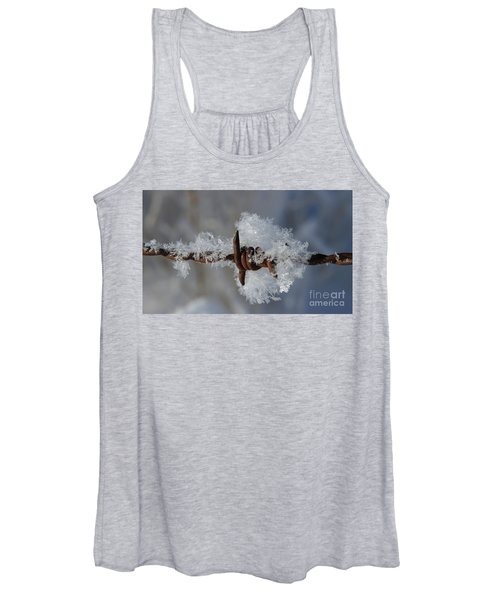 Icy Barbwire Women's Tank Top