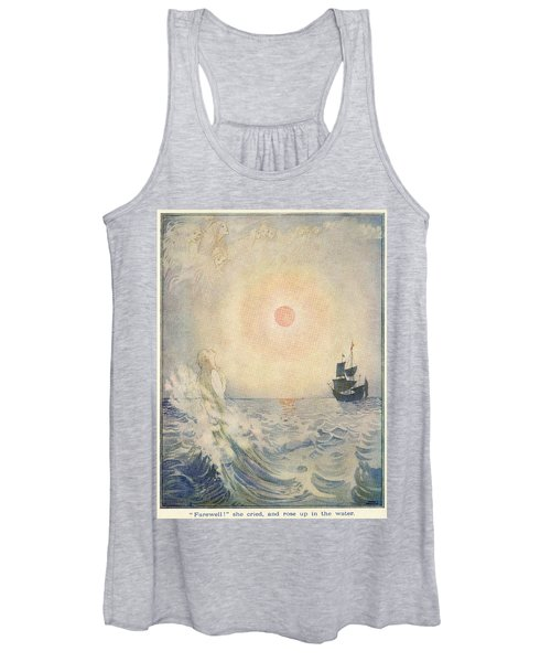 The Little Mermaid, Illustration From  Women's Tank Top