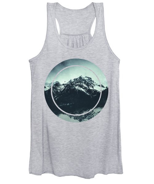 In The Shadow Of The Mountain Women's Tank Top