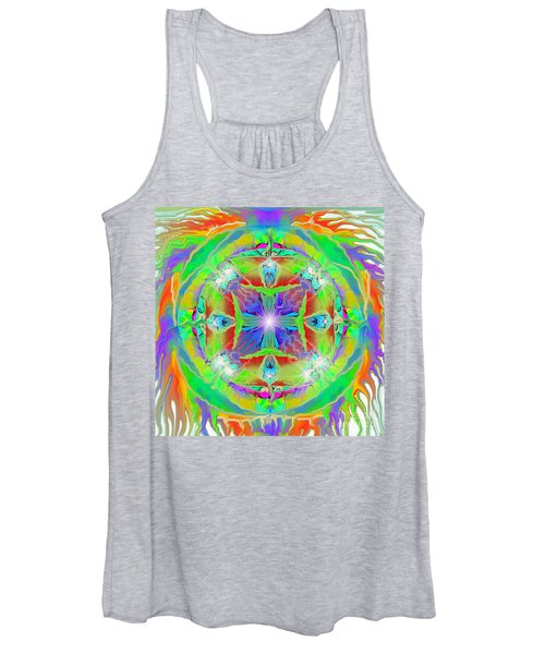 Indian Mandala Women's Tank Top