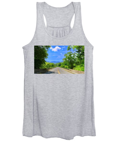 James River Bridge, Blue Ridge Parkway, Va. Women's Tank Top