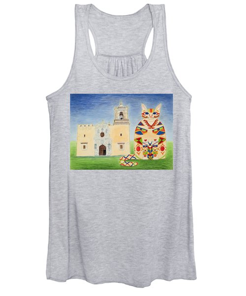 Josephine, Mission San Jose Cat Women's Tank Top