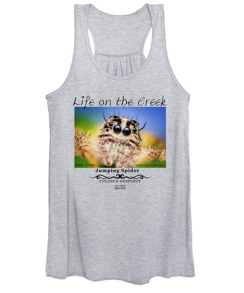 Jumping Spider Colonus Hesperus Women's Tank Top