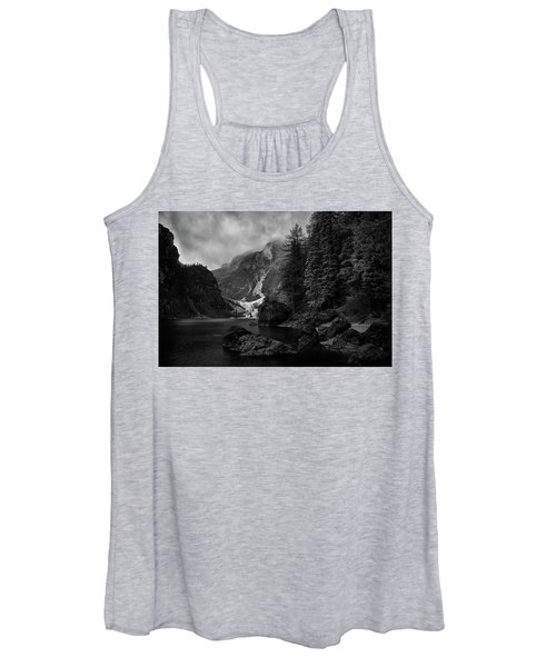 Lake In The Dolomites Women's Tank Top