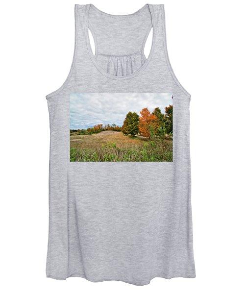 Landscape In The Fall Women's Tank Top