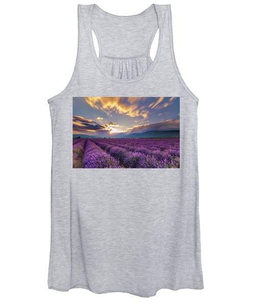 Lavender Sun Women's Tank Top