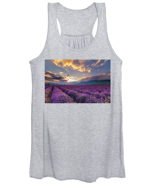 Lavender Sun Women's Tank Top