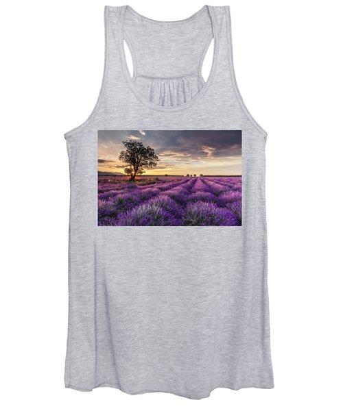 Lavender Sunrise Women's Tank Top