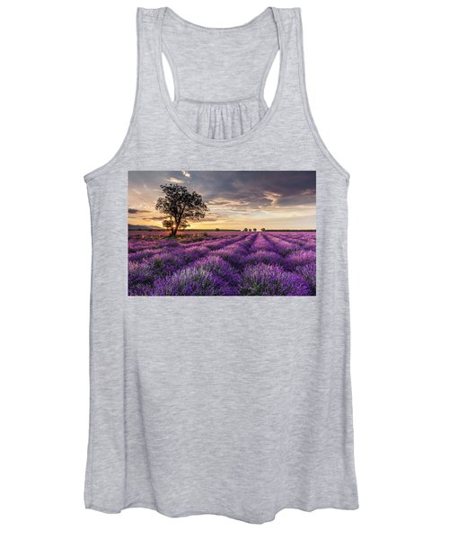 Lavender Sunrise Women's Tank Top