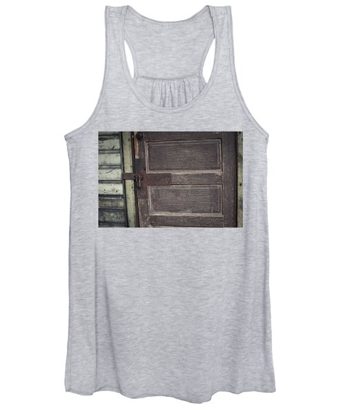Leather Door Women's Tank Top
