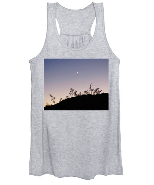Libra Twilight Crescent Women's Tank Top