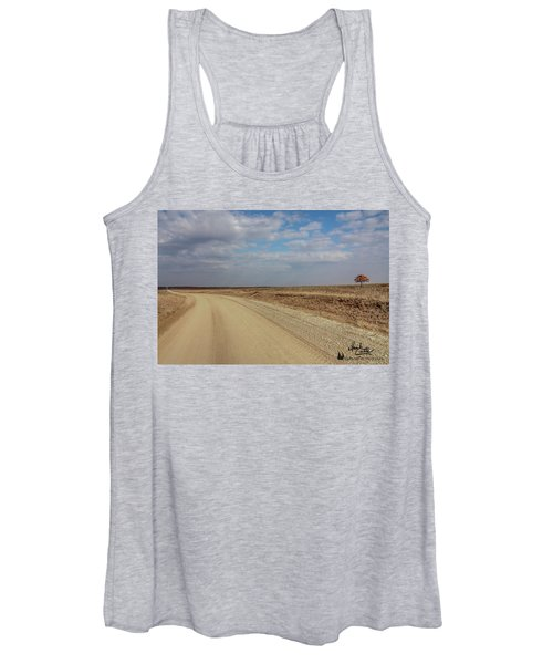 Lonesome Road Women's Tank Top
