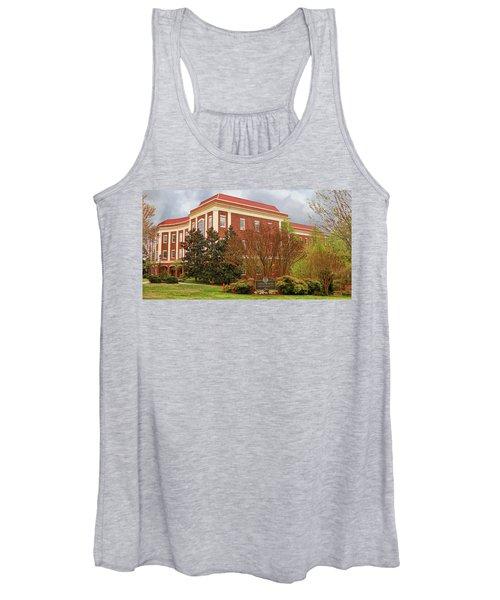 Chichester Hall At Longwood University Farmville Virginia Women's Tank Top