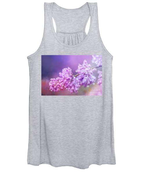 The Magic Of Lilacs In The Rain Women's Tank Top