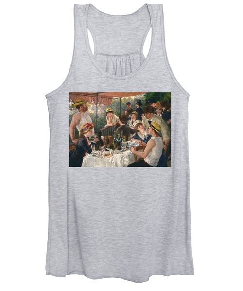 Luncheon Of The Boating Party, 1880-1881 Women's Tank Top