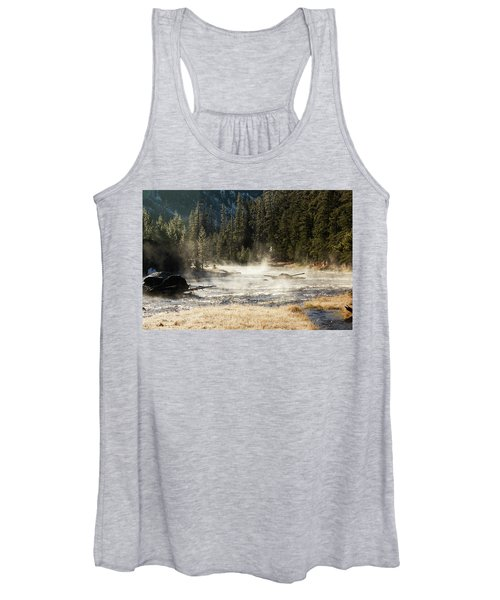 Women's Tank Top featuring the photograph Madison River Morning by Pete Federico