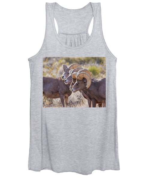 Meeting Of The Horns Women's Tank Top