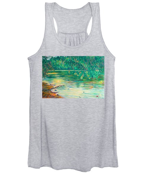 Mid-spring On The New River Women's Tank Top