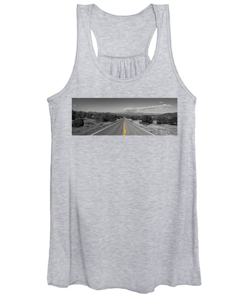 Middle Of The Road Women's Tank Top