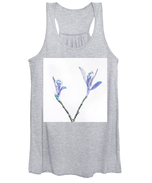Minimalist Chokeberry Buds Women's Tank Top