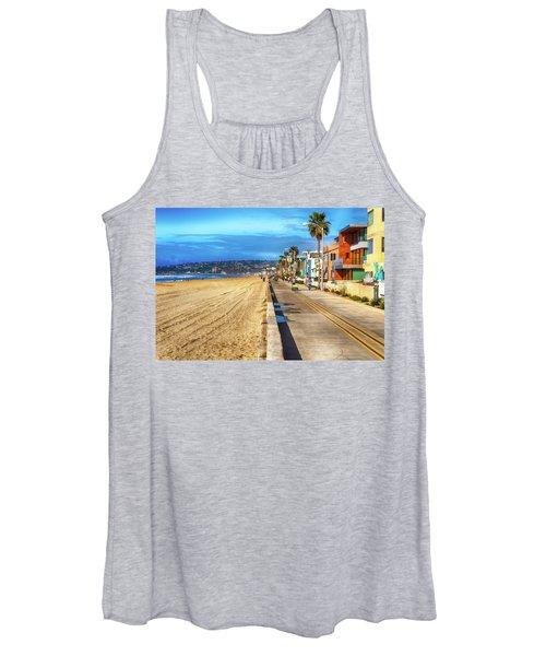 Mission Beach Boardwalk Women's Tank Top