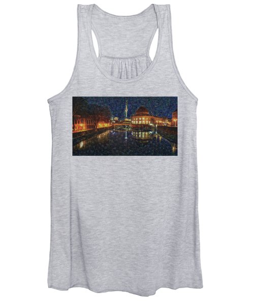 Mist Of Impressionism. Berlin. Women's Tank Top