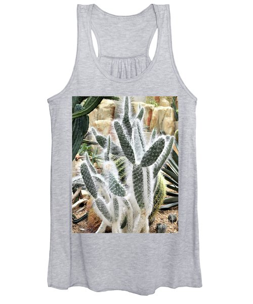 Mojave Prickly Pear Women's Tank Top