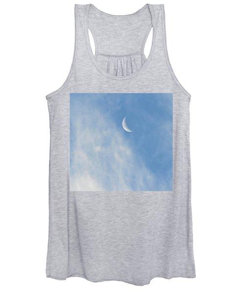 Moon In Libra - Crescent Farewell Women's Tank Top