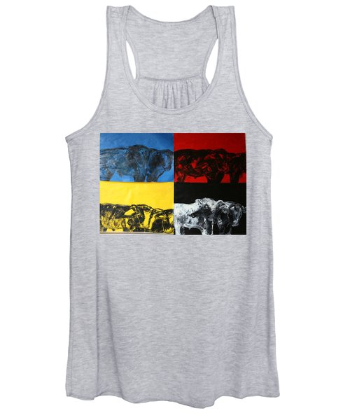 Mooving Out Of Our Land Women's Tank Top