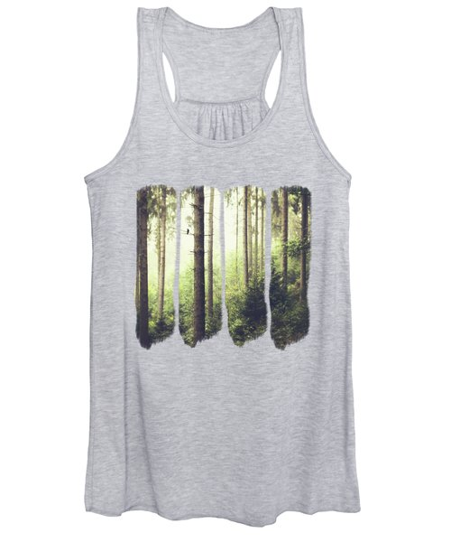 Morning Song - Misty Forest Women's Tank Top