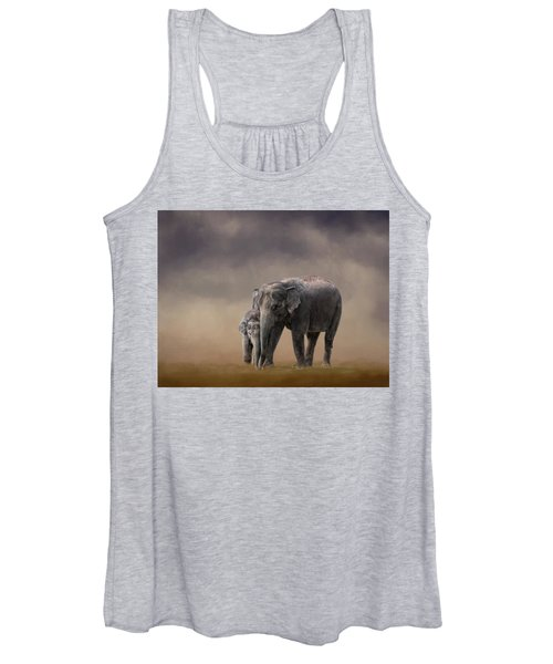 Mother And Son Women's Tank Top