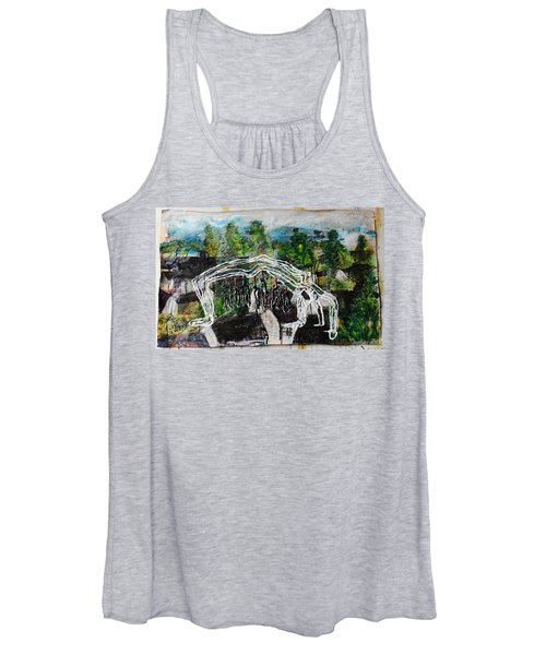Mother Money Begins To Collapse Women's Tank Top