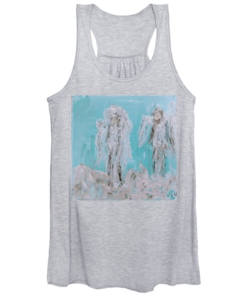 Mr And Mrs Angels Women's Tank Top