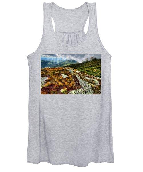Mt. Washington Nh, Autumn Rays Women's Tank Top