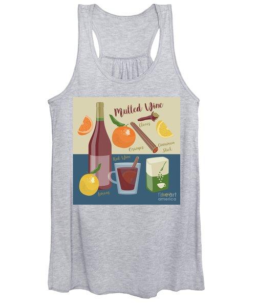 Mulled Wine Women's Tank Top
