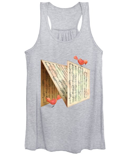 N Is For Notes Women's Tank Top