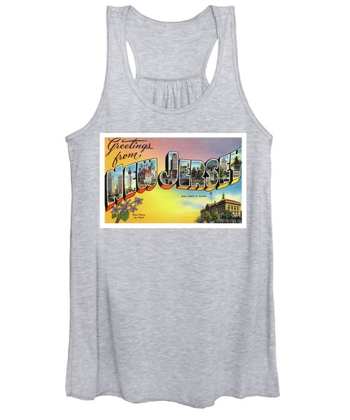 New Jersey Greetings - Version 2 Women's Tank Top