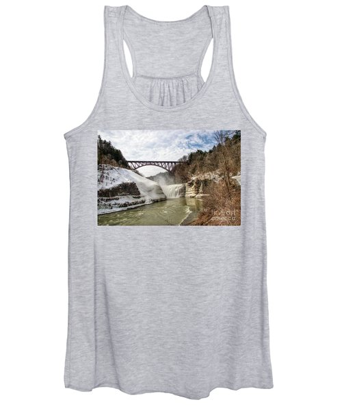 Winter At Letchworth State Park Women's Tank Top