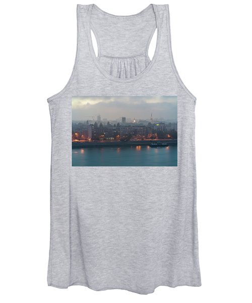 Novi Sad Night Cityscape Women's Tank Top