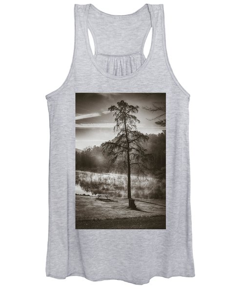 Odd Pair Sepia Women's Tank Top