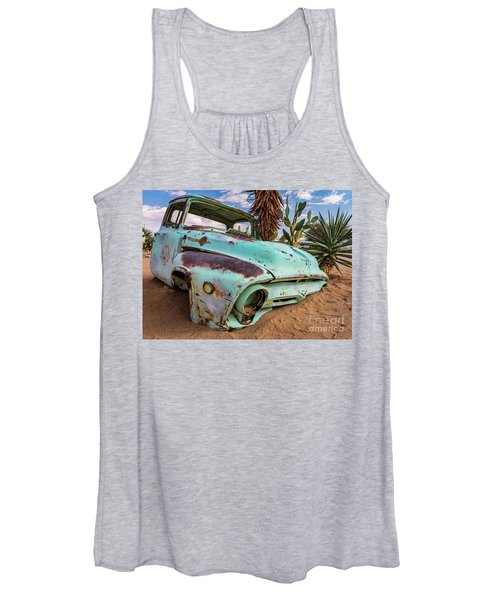Old And Abandoned Car 7 In Solitaire, Namibia Women's Tank Top