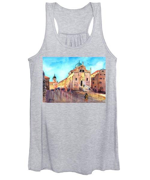 Old City Of Dubrovnik Women's Tank Top