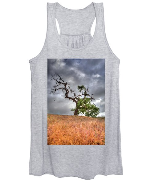 Old Oak Tree Women's Tank Top