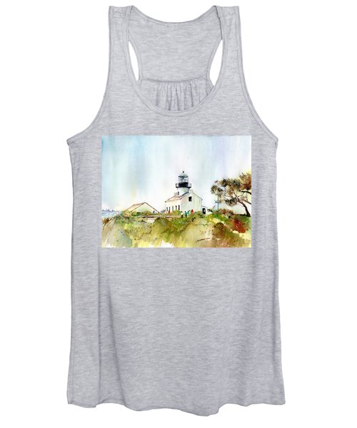 Old Point Loma Light Women's Tank Top