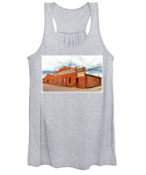 Old Warehouse In Farmville Virginia Women's Tank Top